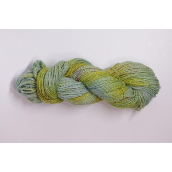 Kis kos Bio Wool kék-zöld-rózsa - majdnem tökéletes