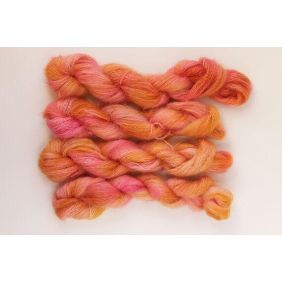 Kid Silk Orange&Pink
